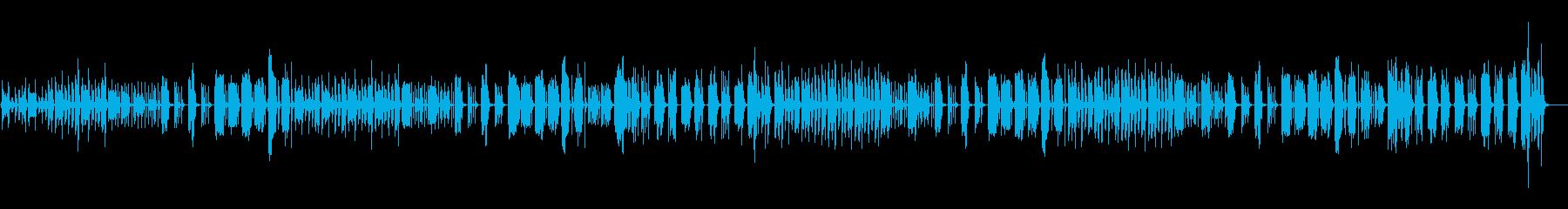少しコミカルで怪しい曲/ロングverの再生済みの波形