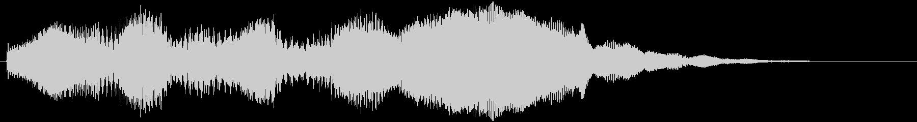 スタート音などの未再生の波形