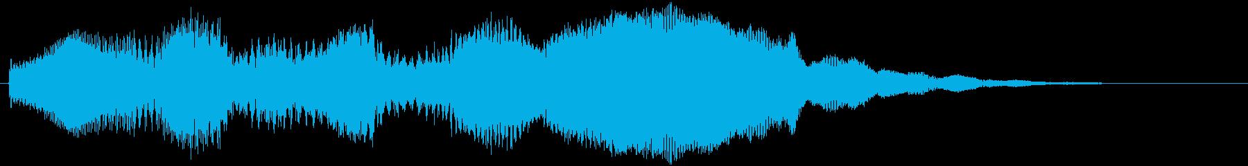 スタート音などの再生済みの波形