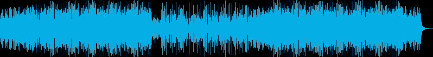 イージーリスニング 繰り返しの 楽...の再生済みの波形