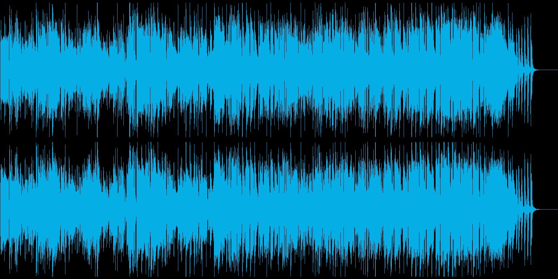 レトロフューチャーな雰囲気のフュージョンの再生済みの波形