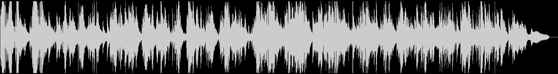 極太メロウな低音サックスのソフトジャズの未再生の波形