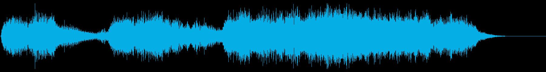 ハロウィン系 恐怖系のジングル オルガンの再生済みの波形