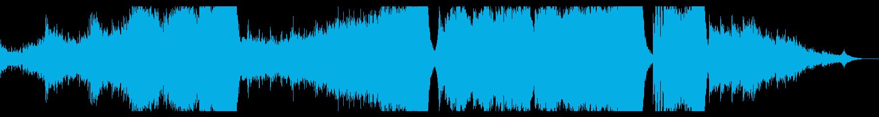 壮大なストレングスが物語を語るの再生済みの波形