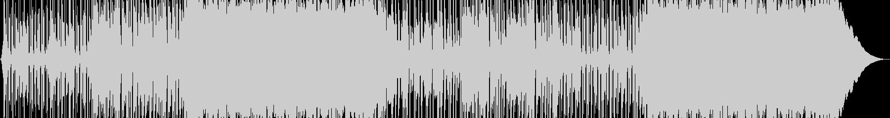 陽気でポジティブなポップロックの未再生の波形