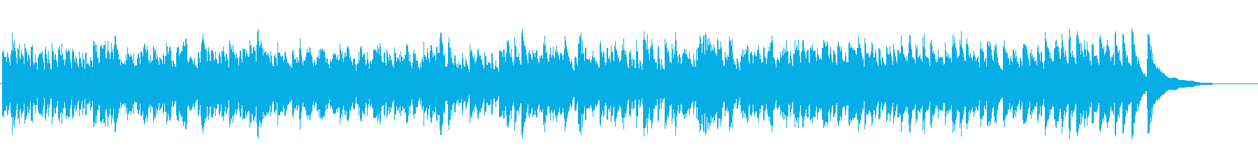 バッハ チェンバロ パルティータ1-1 の再生済みの波形