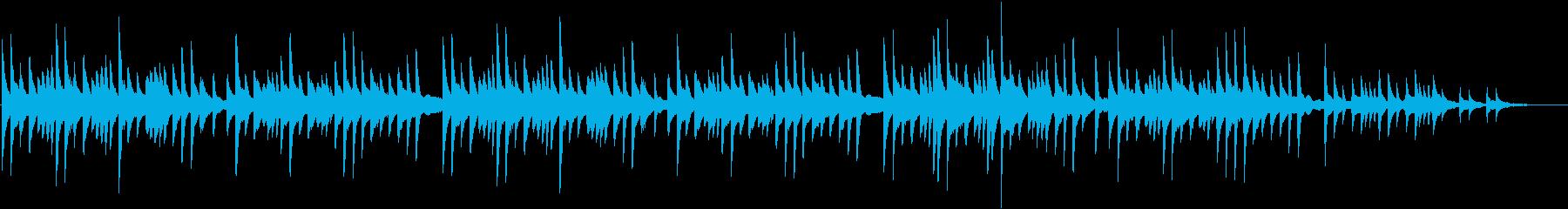 いやしの3拍子ゆらゆら浮遊感ピアノBGMの再生済みの波形