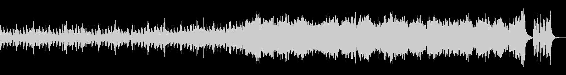 ファンタジー系ゲームの予告動画っぽい曲の未再生の波形