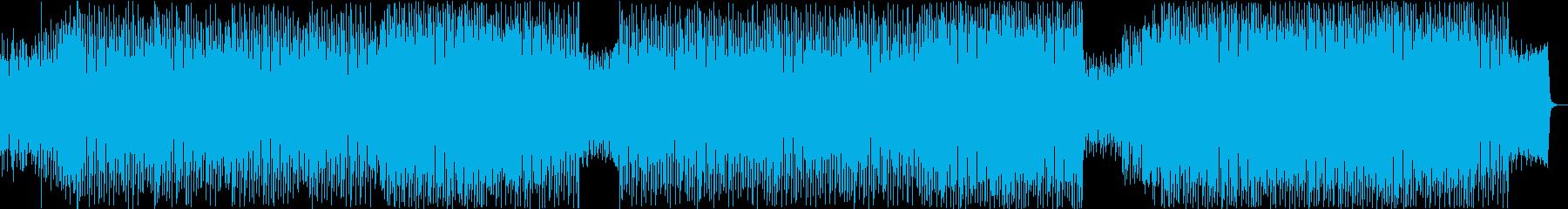 未来っぽさを感じるエレクトロポップの再生済みの波形