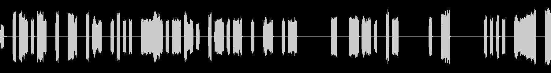 宇宙コンピューターピンボールデータ...の未再生の波形