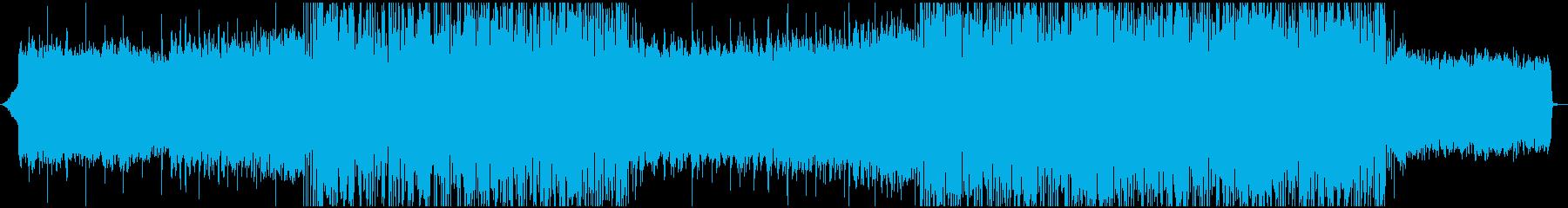 おしゃれな映像に、Future Bassの再生済みの波形