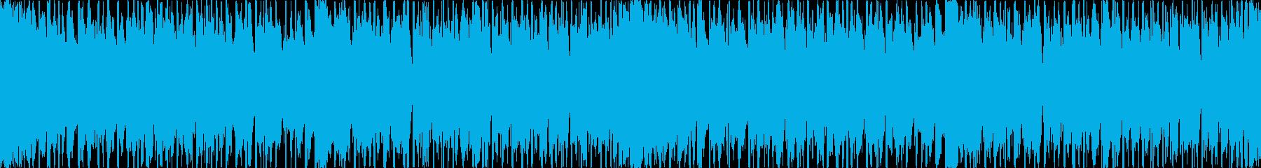 【ループ素材】ウクレレ、爽やか、明るいの再生済みの波形