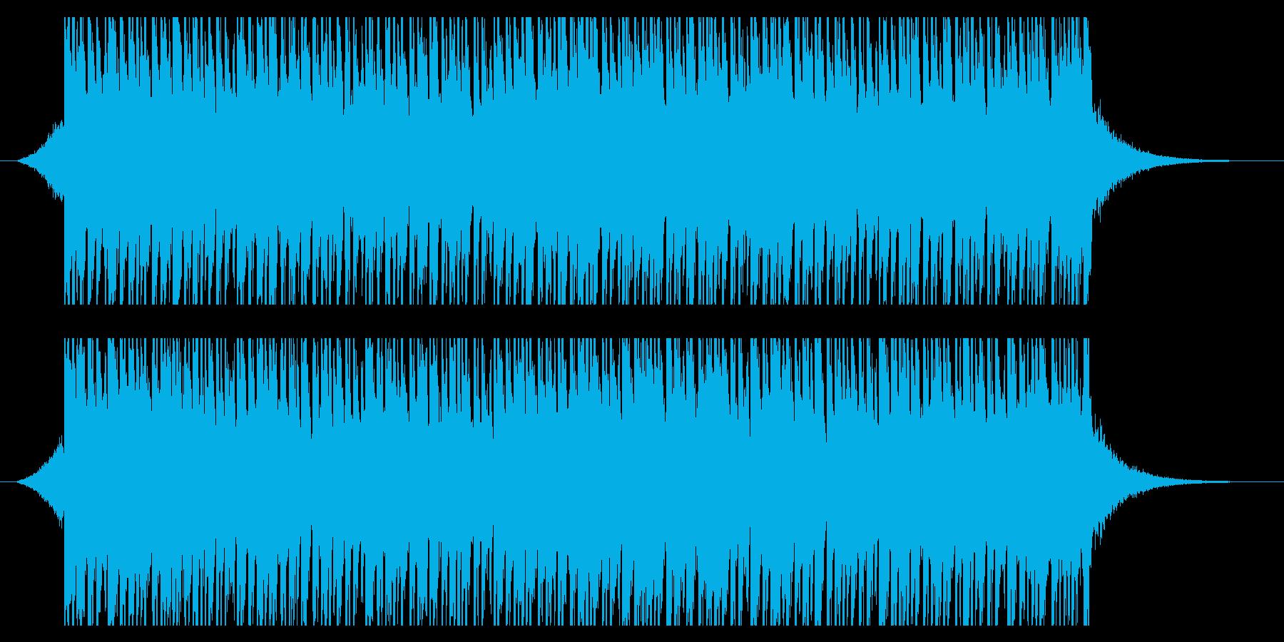 サニーサマー(38秒)の再生済みの波形