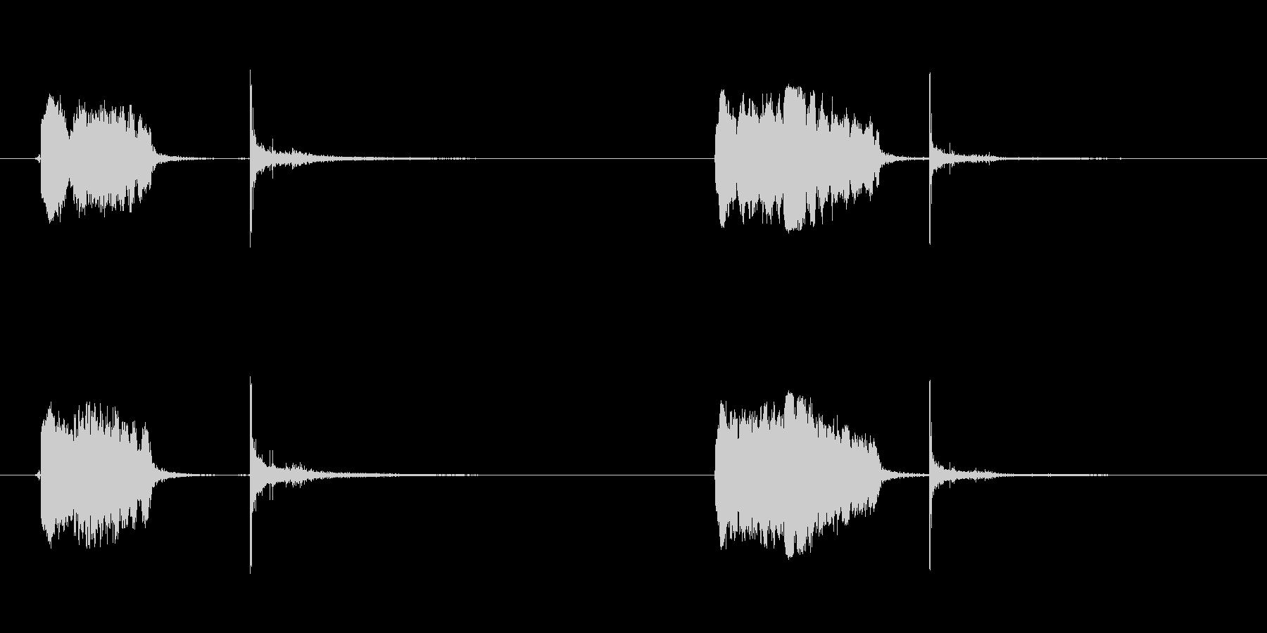 ロケット、スモール、ホイッスル、バ...の未再生の波形