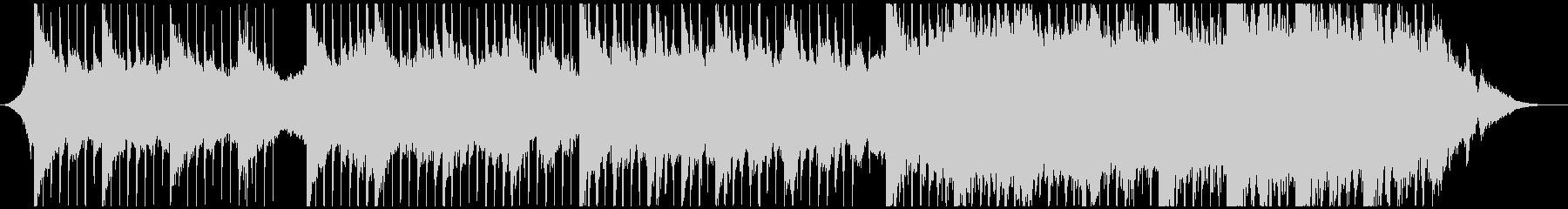 ピアノとストリングスのエモーショナル曲の未再生の波形