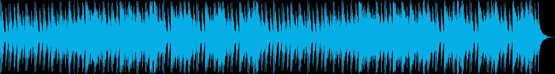 ノスタルジックなギターシンセサウンドの再生済みの波形
