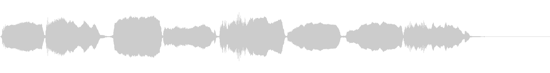 バイオリン:アップスケールプレイド...の未再生の波形