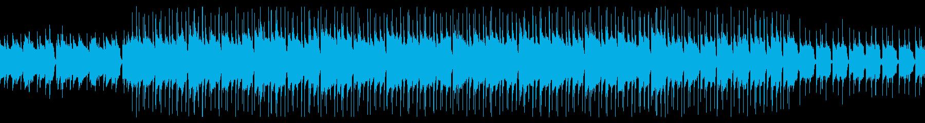 【ループ】ミドルテンポのアコースティックの再生済みの波形