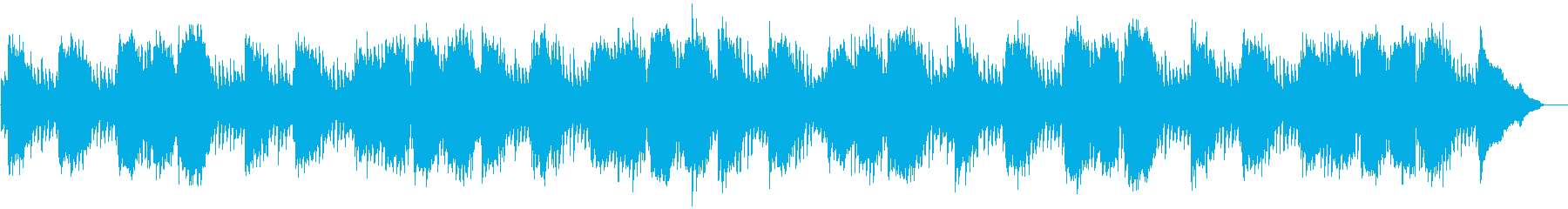 禅の世界/静けさ/和風/尺八とピアノの再生済みの波形