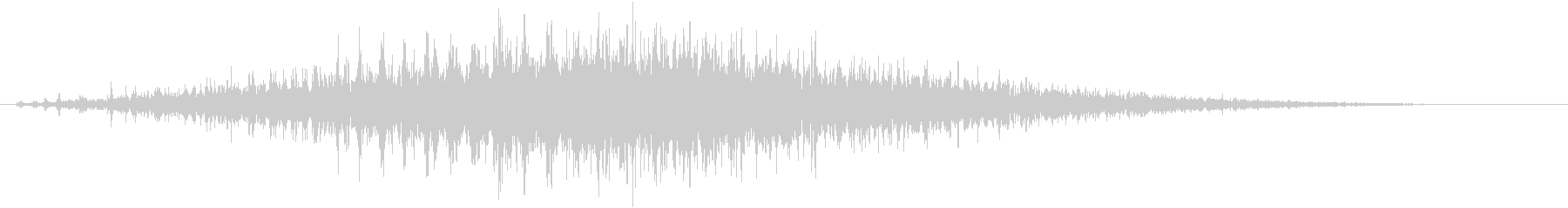 「シュルシュル」石を擦った鈴の音R-Lの未再生の波形