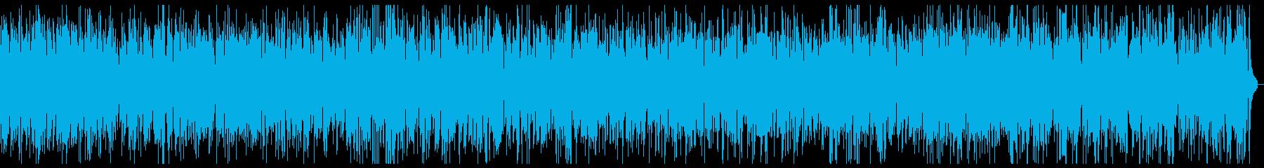 かっこいいクール ジャズピアノ長時間の再生済みの波形