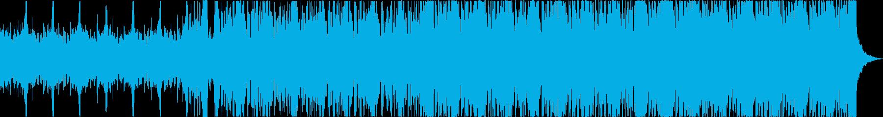 軽快おしゃれニューディスコエレクトロbの再生済みの波形