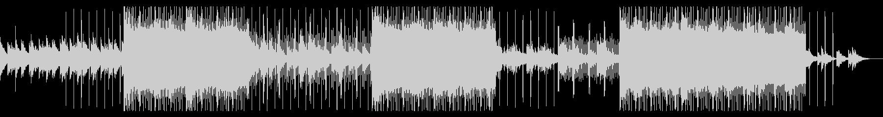 ダークヒップホップ(トラップ)の未再生の波形