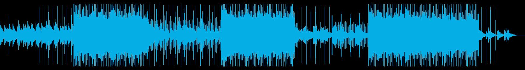 ダークヒップホップ(トラップ)の再生済みの波形
