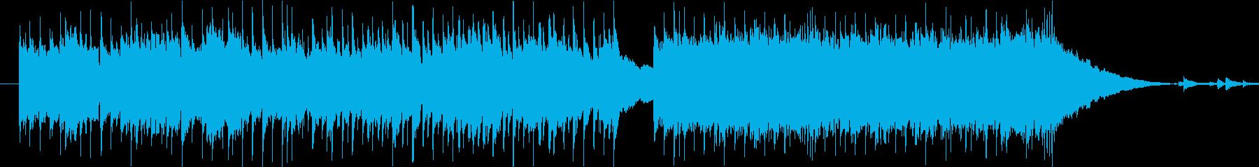 ポップス&ハードロックの再生済みの波形