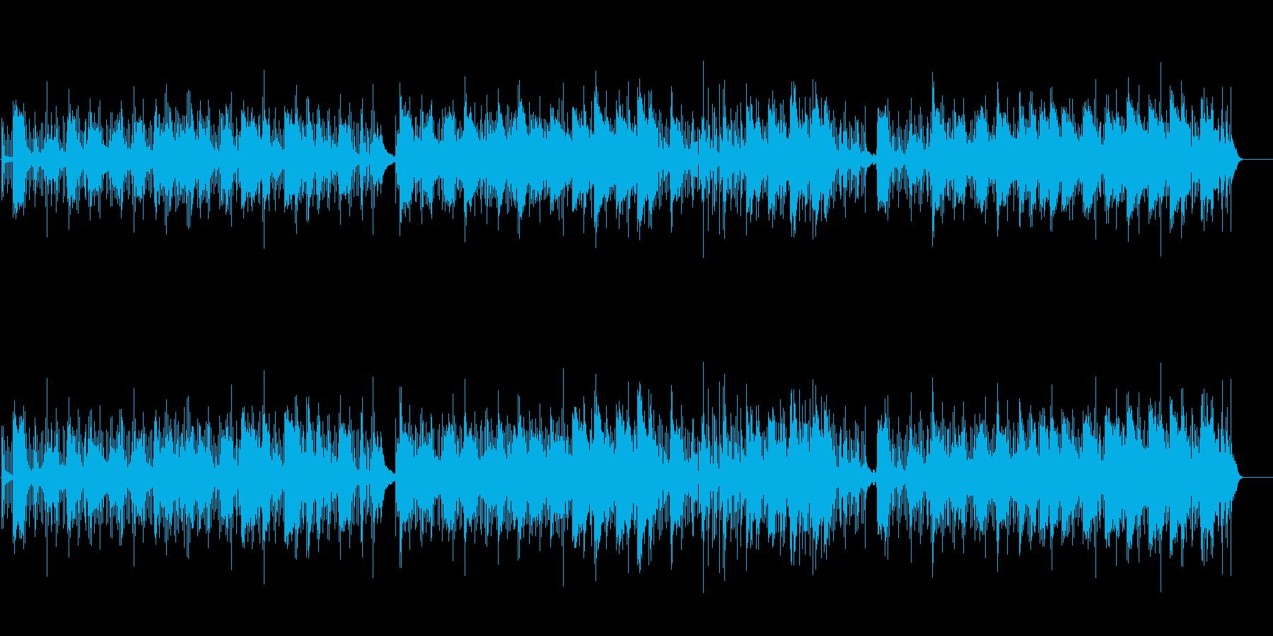 シタールによる伝統的なインド音楽風の再生済みの波形