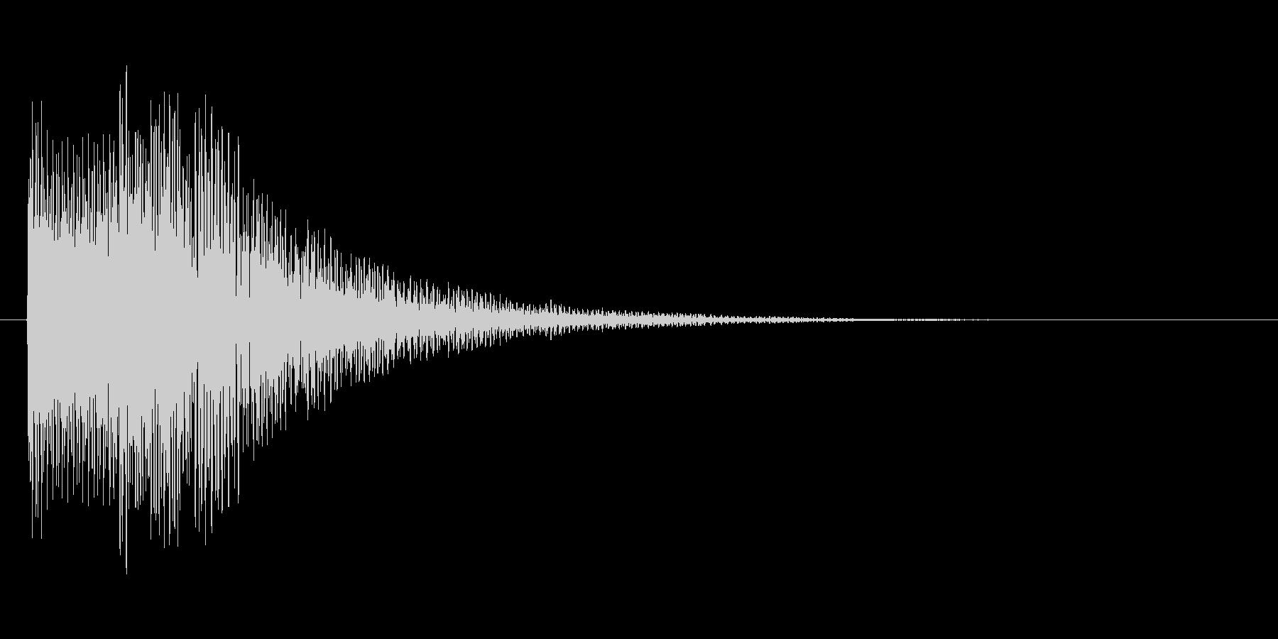 アイテムを入手した時のキラキラ音_その1の未再生の波形