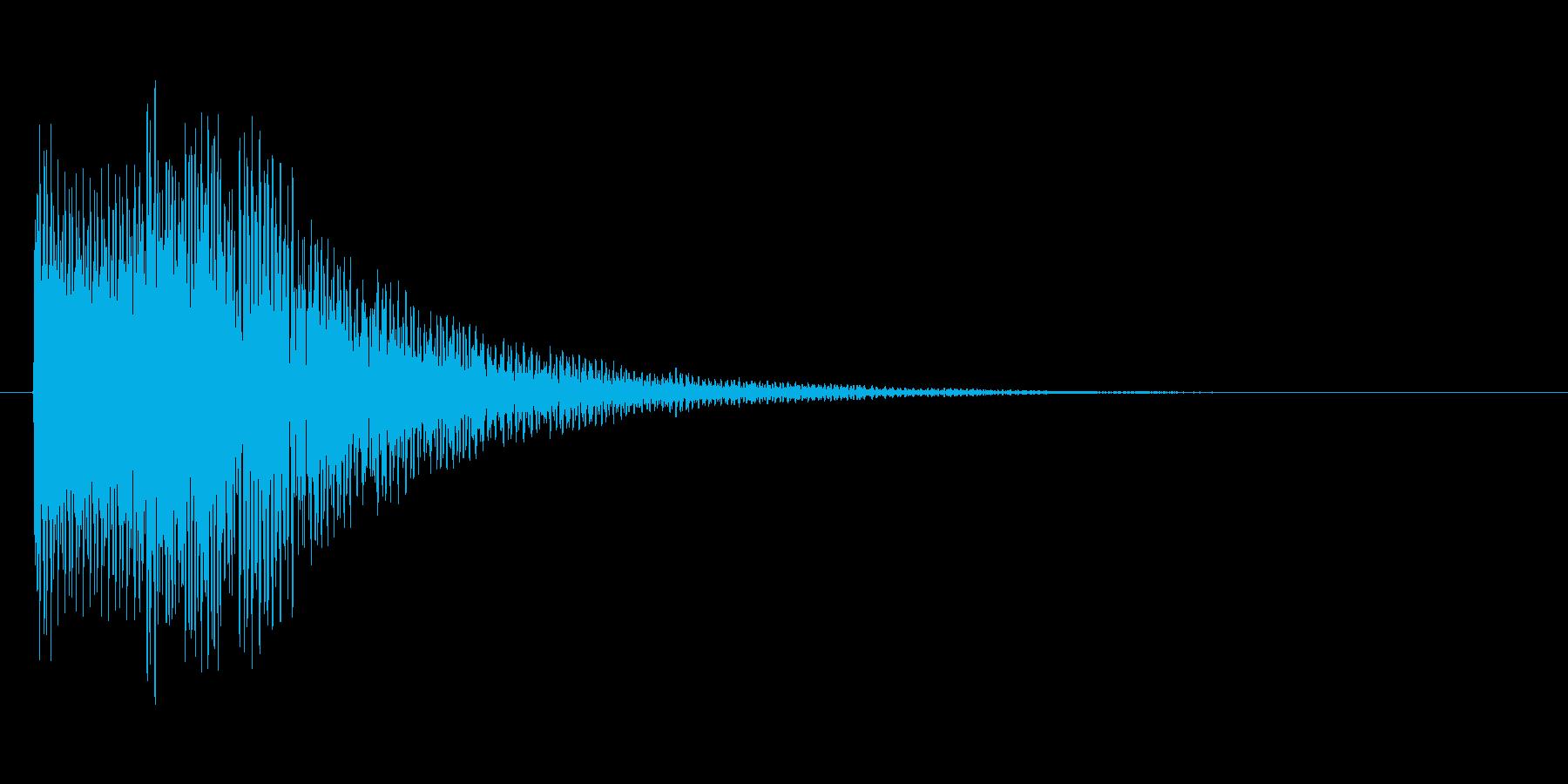 アイテムを入手した時のキラキラ音_その1の再生済みの波形