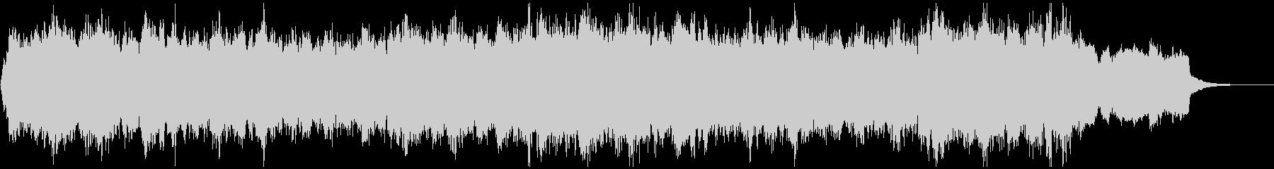 ド定番Xmasキャロルのコーラスアレンジの未再生の波形