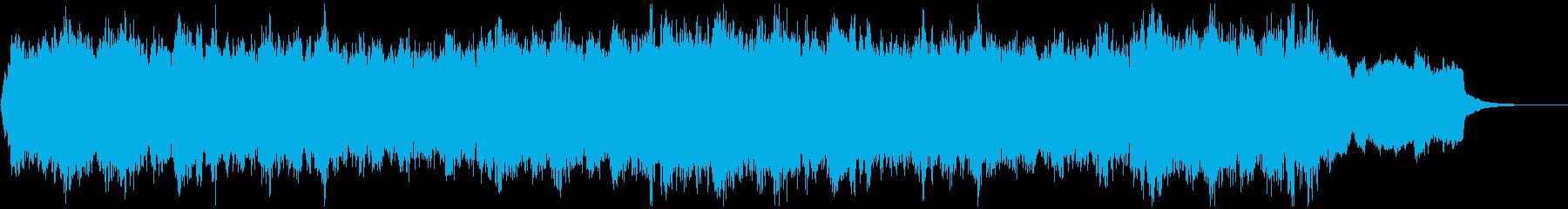 ド定番Xmasキャロルのコーラスアレンジの再生済みの波形
