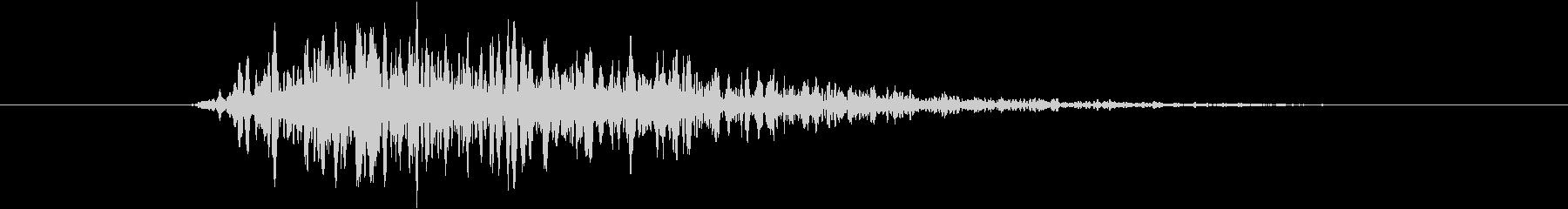 トランジション プッシュ22の未再生の波形
