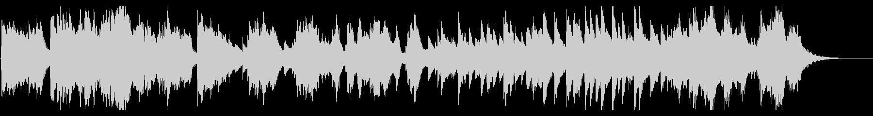 せつない、かなしい雰囲気のハープの曲の未再生の波形