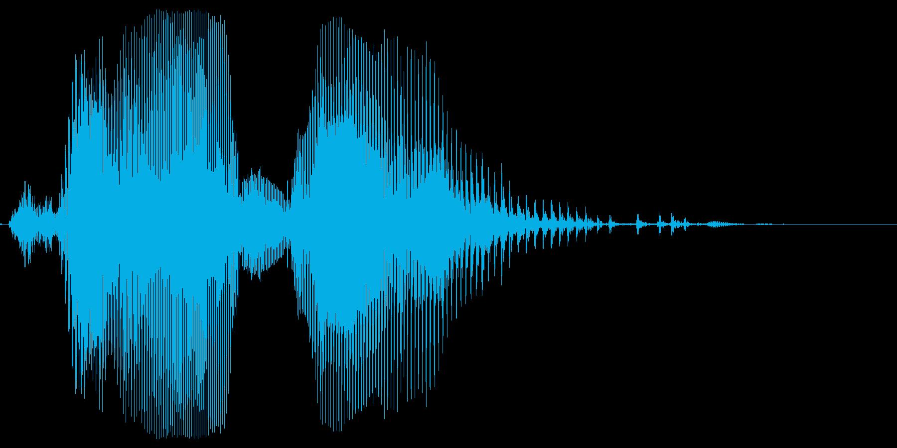 米人 DrawGame(ドローゲーム)の再生済みの波形