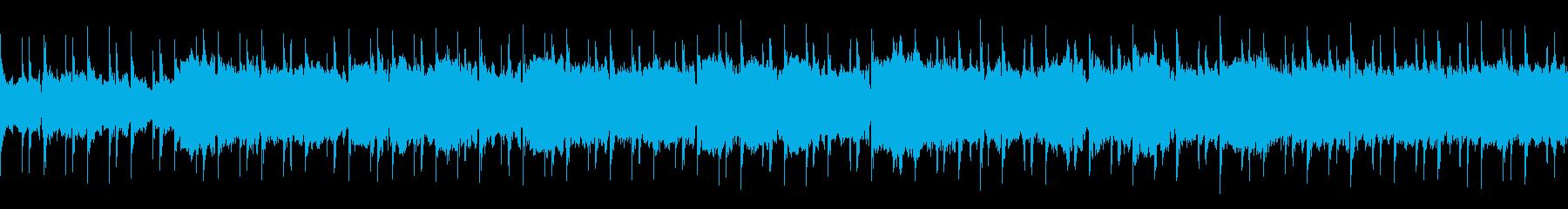 ギルドで流れそうな叙情的ケルト風の曲の再生済みの波形