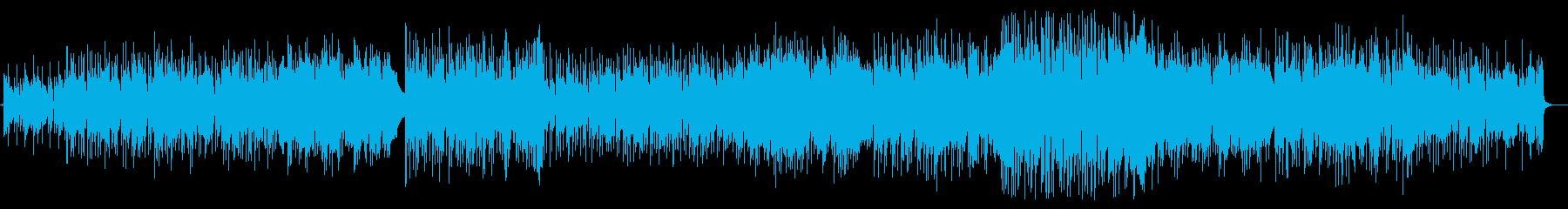 スローでアンニュイ ダークなロックの再生済みの波形