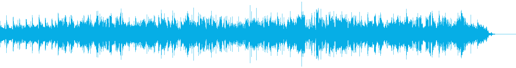 イングリッシュホルンによる癒しのナンバーの再生済みの波形