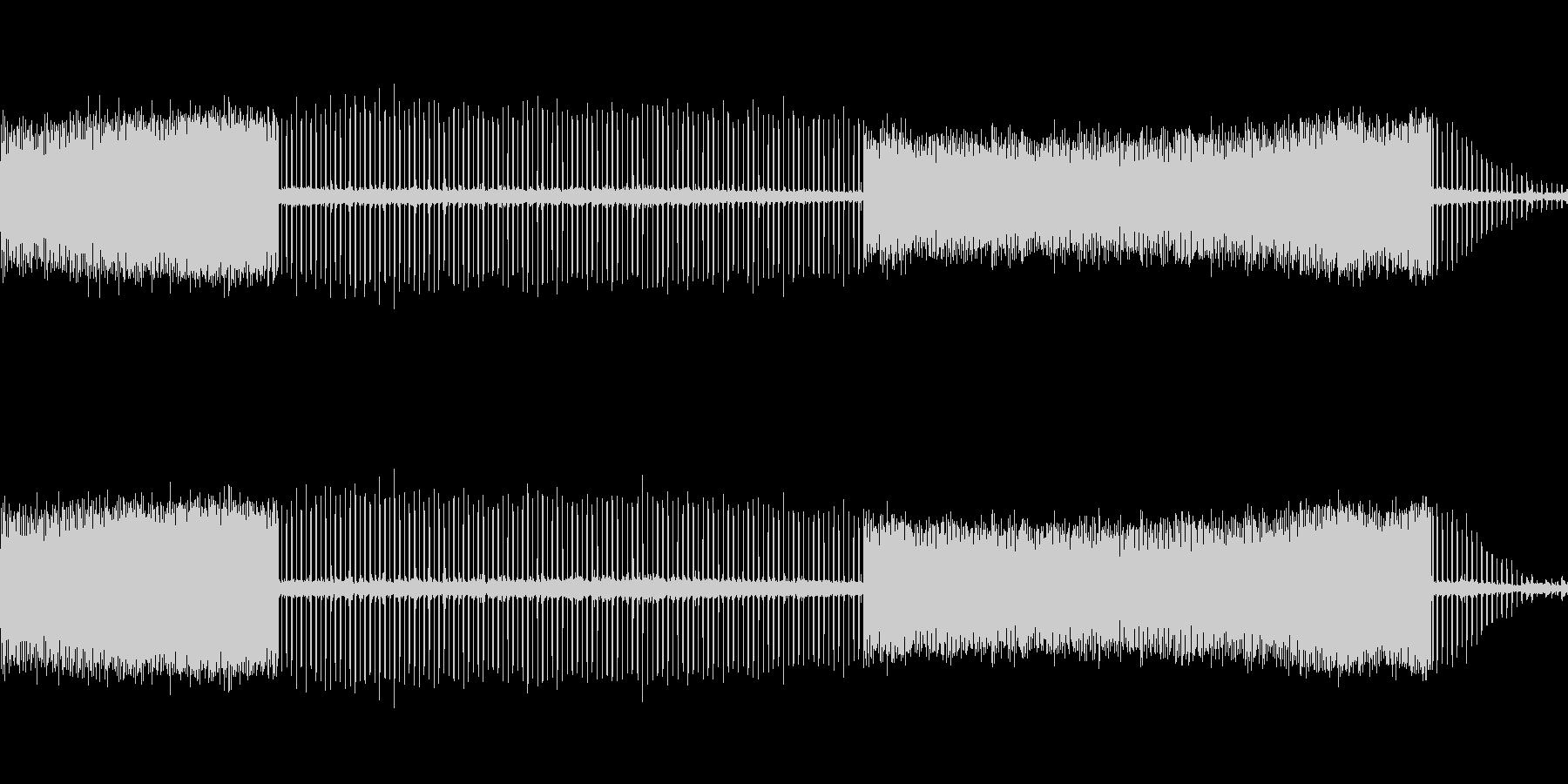 bの近くの水スプリンクラーティックの未再生の波形