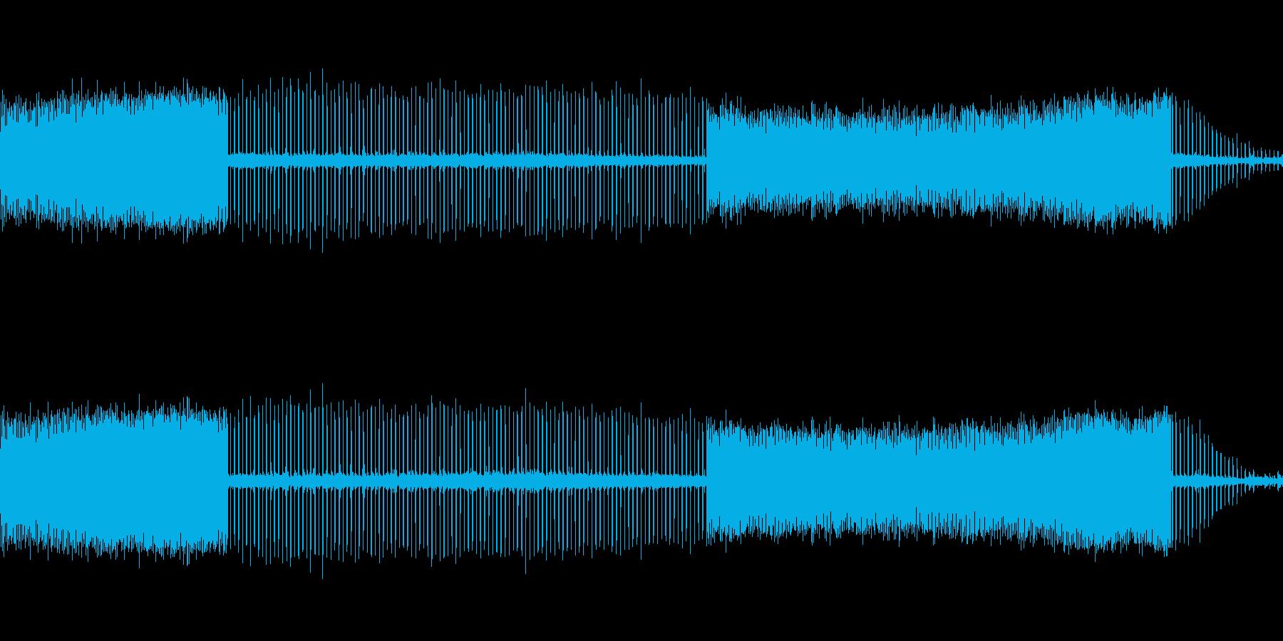bの近くの水スプリンクラーティックの再生済みの波形