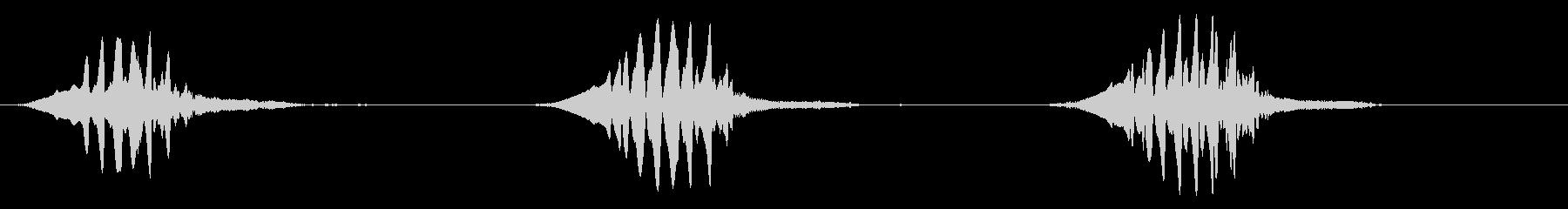 ノーザン・モッキングバード:シング...の未再生の波形