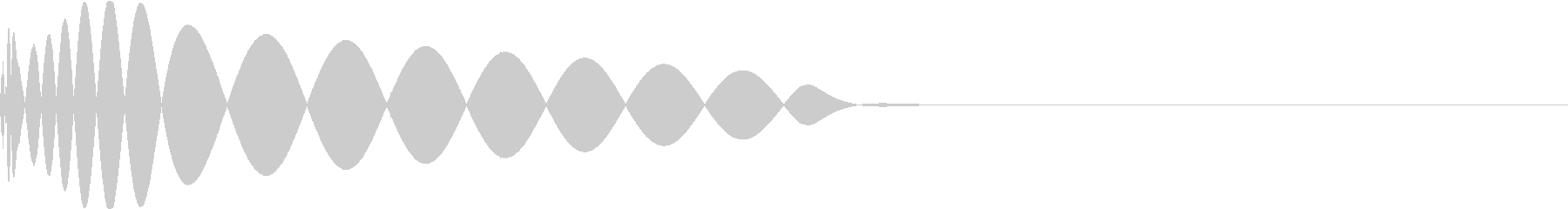 DTM Kick 41 オリジナル音源の未再生の波形