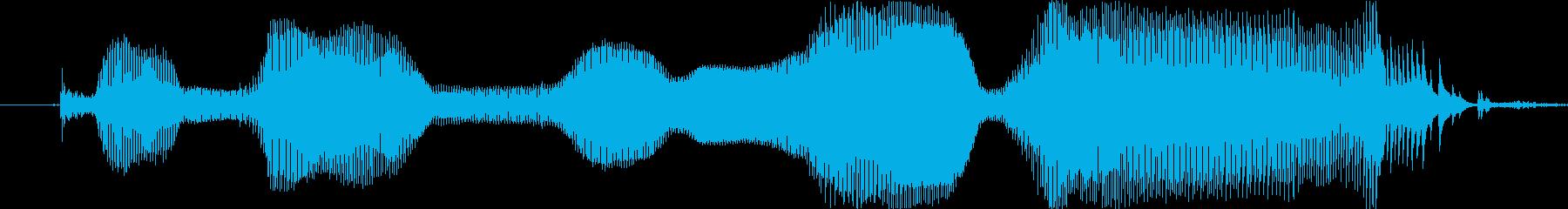 2~3歳女の子 「てれびみる」の再生済みの波形