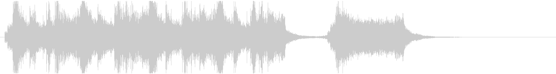 オーケストラのオープニングっぽいのんの未再生の波形