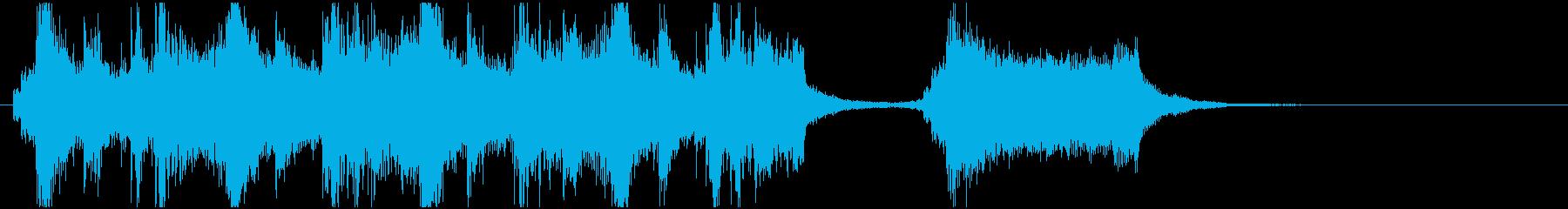 オーケストラのオープニングっぽいのんの再生済みの波形
