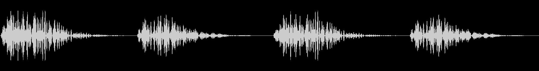 ピコピコ(キャンセル 操作音 間違い)の未再生の波形