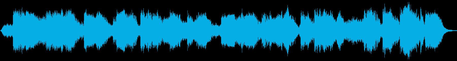 ソロドゥドゥクで穏やかな音楽の再生済みの波形