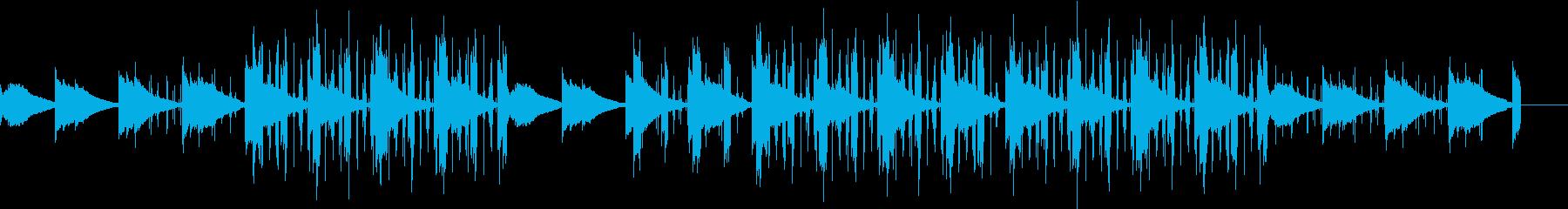 ギターの温かみを強調したナチュラルBGMの再生済みの波形